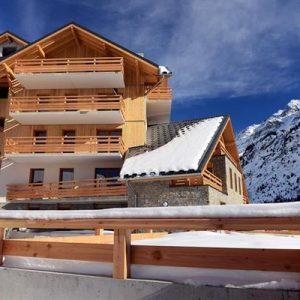 Residence Odalys Le Crystal Blanc Vaujany