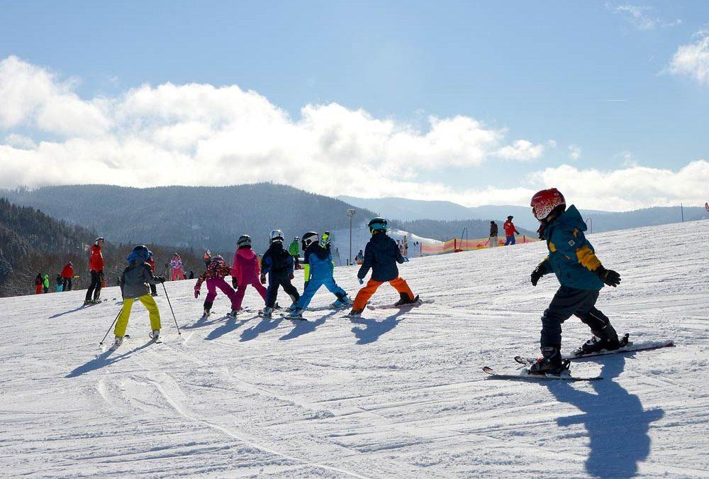 Kind vriendelijke skigebieden