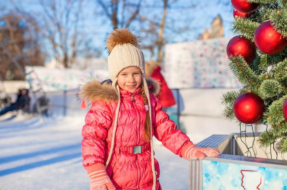 Op wintersport met Kerst