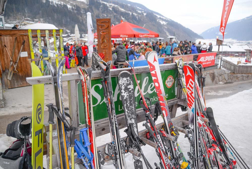 apres ski oostenrijk