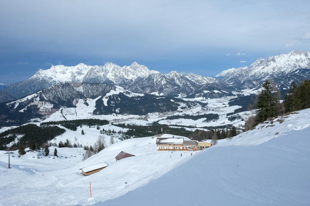wintersport saalbach pistes